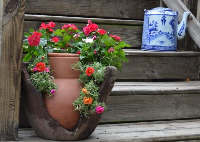 Reuse broken pot